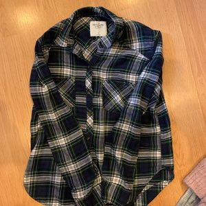 Abercrombie Flannel Woman's top